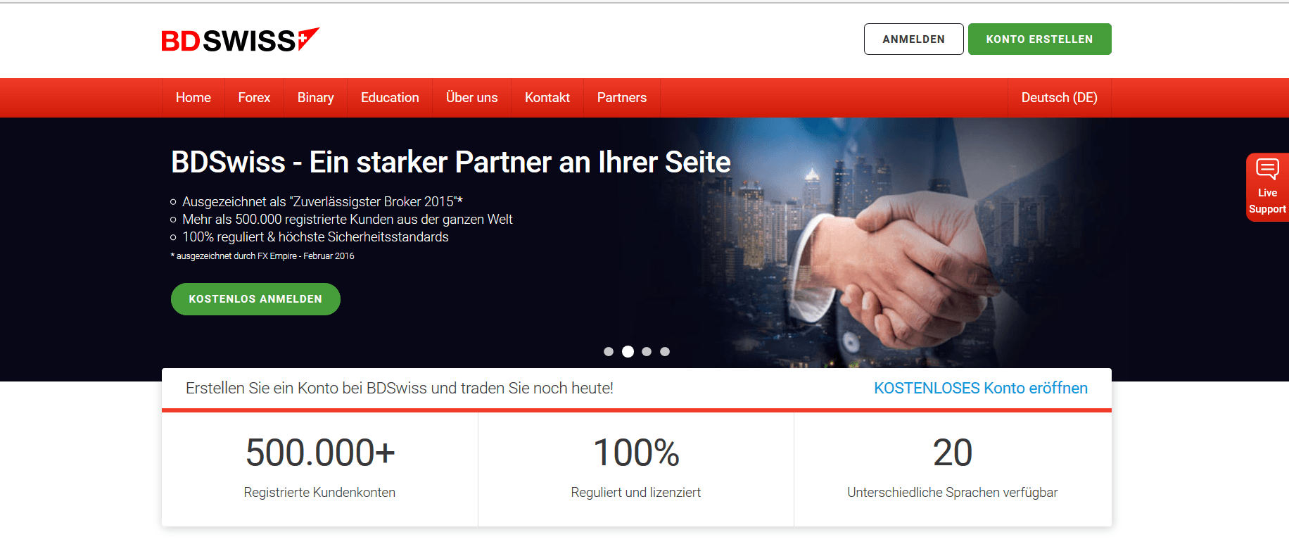 No touch option broker vergleich