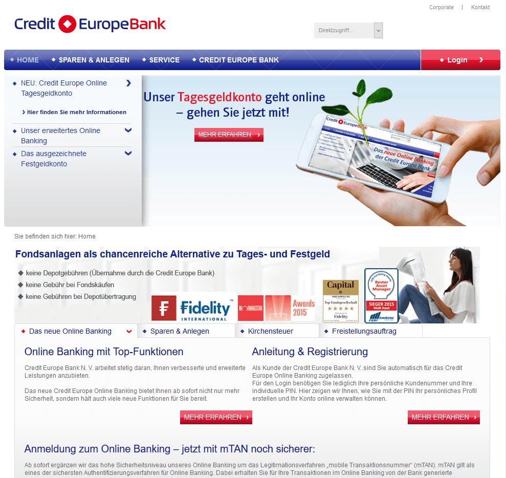 Girokonto Comdirect Dkb Und Norisbank Im Vergleich: Credit Europe Bank Festgeld: Aktueller Test & Erfahrungen