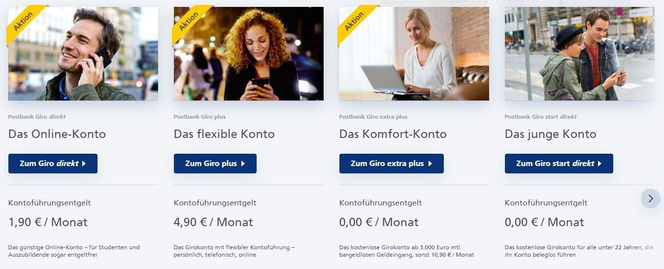 postbank-girokonto